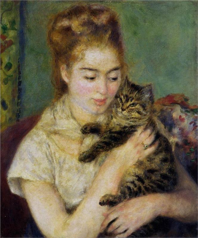 pierre-auguste-renoir-mujer-con-gato